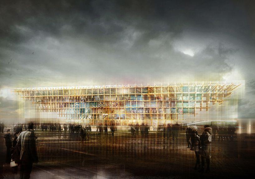 mdu architetti: helsinki central library proposal