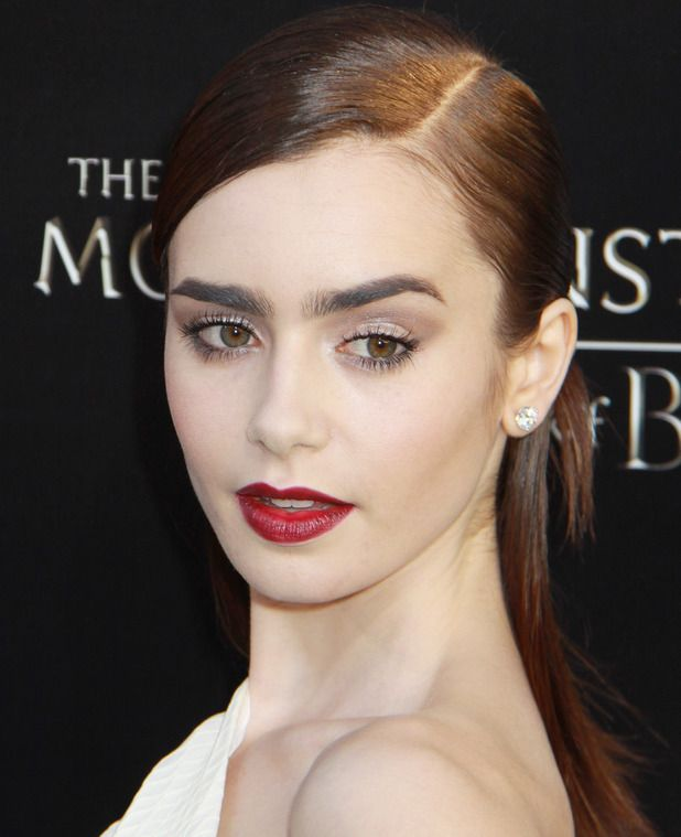 Lily Collins, Premiere of Screen Gems & Constantin Films' 'The Mortal Instruments: City of Bones' at ArcLight Cinemas Cinerama Dome, 12 Augu...