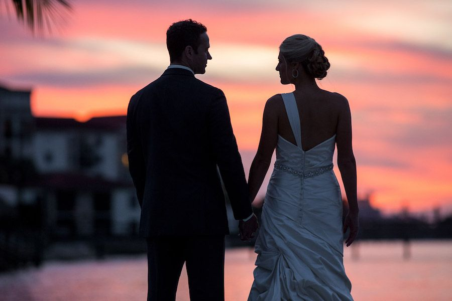 Tampa Bay Country Club Wedding Inspiration | Country club ...