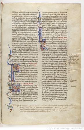 Page 22r Manoscritto Miniato Libri