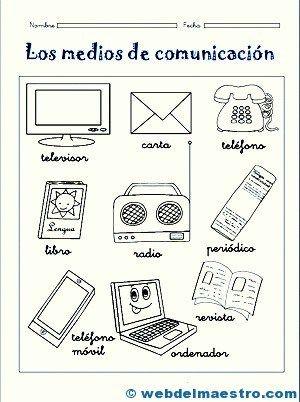 Medios De Comunicación Para Niños Actividades De