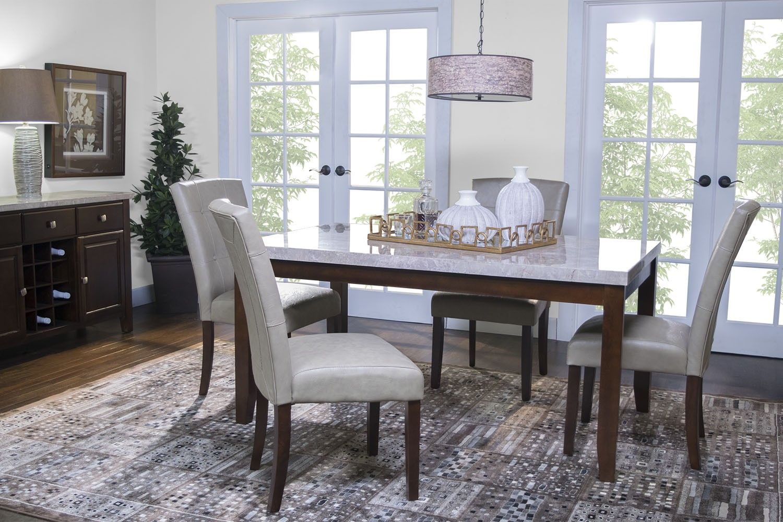 Danville White Dining Room Dining Room Mor Furniture For Less