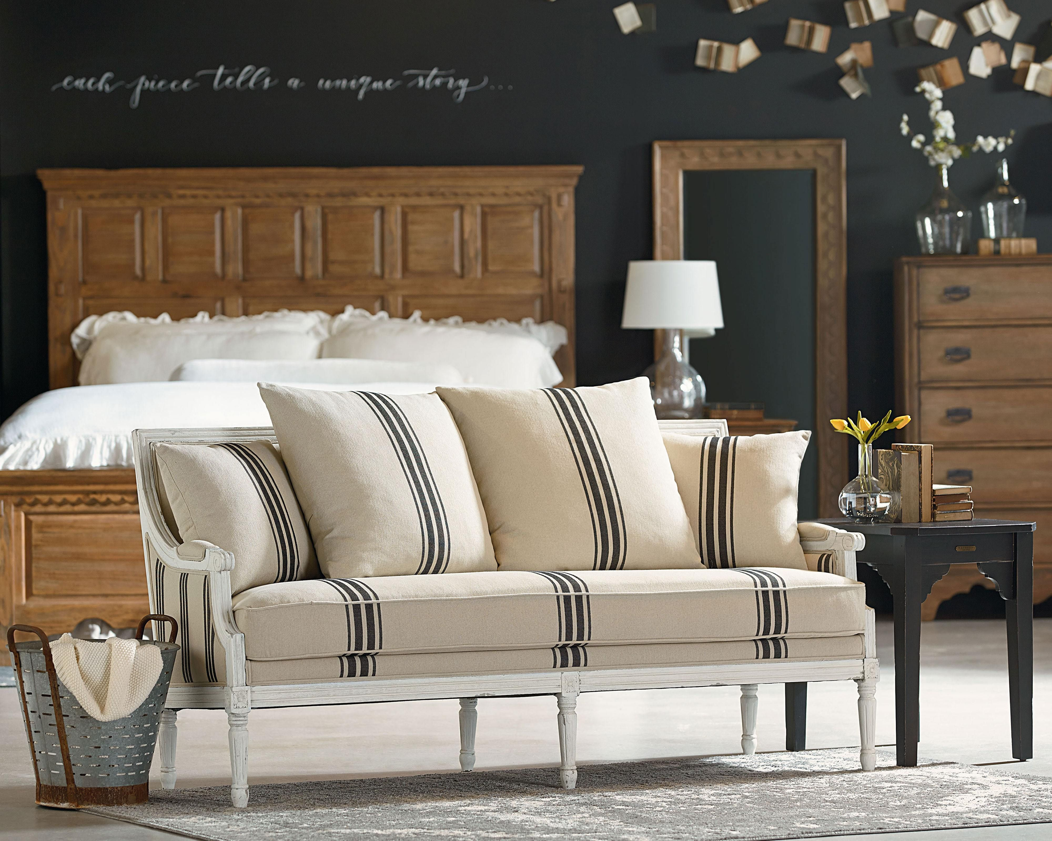 For Magnolia Home Parlor Settee Sofa And Other Living Room Sofas At Star Furniture Tx