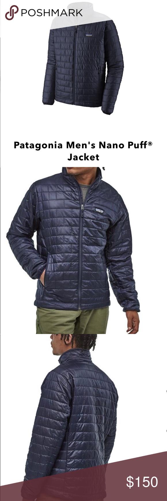 Patagonia Men S Nano Puff Jacket Jackets Patagonia Mens Patagonia Jacket [ 1740 x 580 Pixel ]