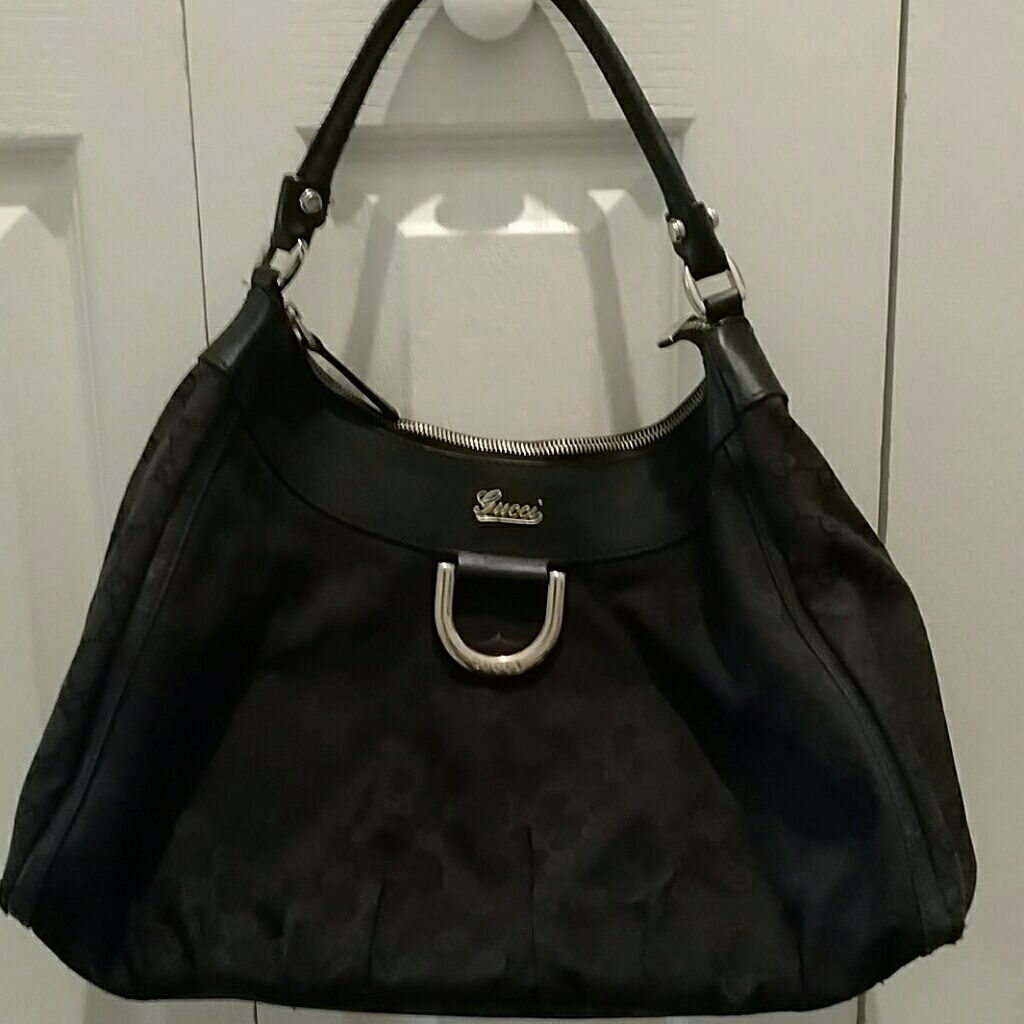 Authentic Gucci Black Hobo Bag Price Reduced!