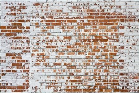 Texture An Old Brick Wall With Peeling White Paint Old Brick Wall Brick Wall Old Bricks