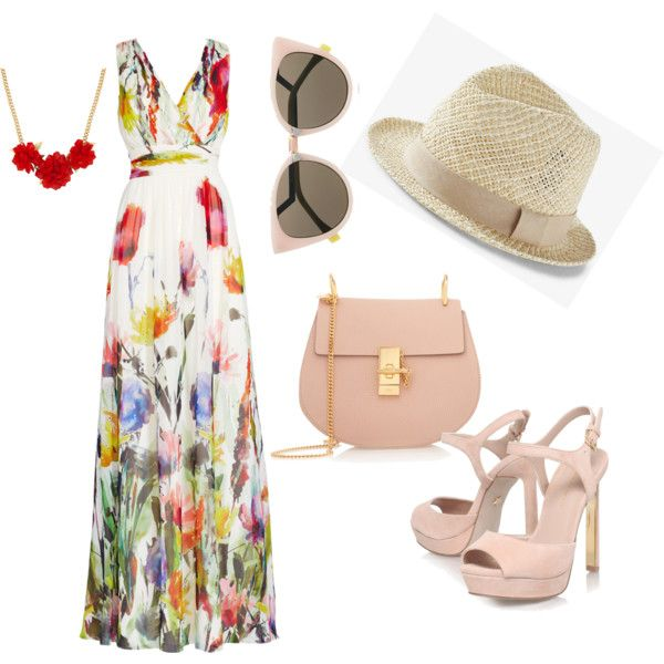 good style by a-mido on Polyvore featuring polyvore fashion style Badgley Mischka KG Kurt Geiger Chloé Betty Jackson Fendi Express