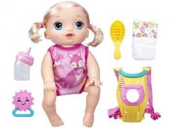 b23afb3443 Boneca Baby Alive Hora do Passeio - Loira - Hasbro. Compre pelo site. R .  398