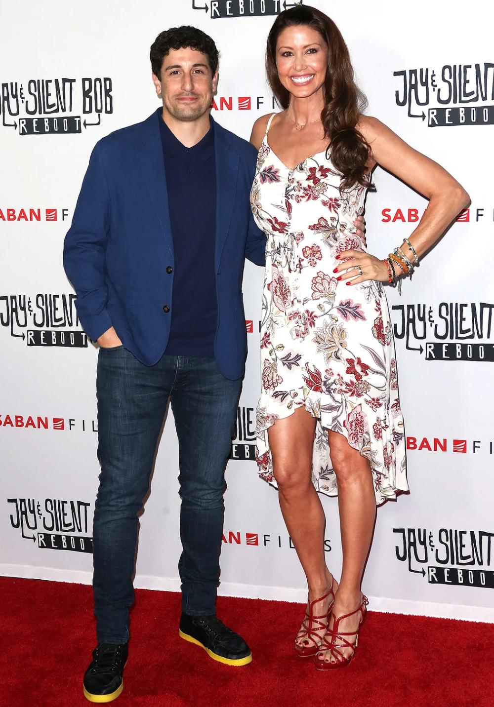 Jason Biggs Reunites with American Pie Costar Shannon