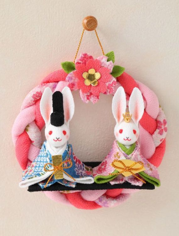 Diy Mini Cute Doll Festival Doll S Rabbit Charm Art Fabric Kit