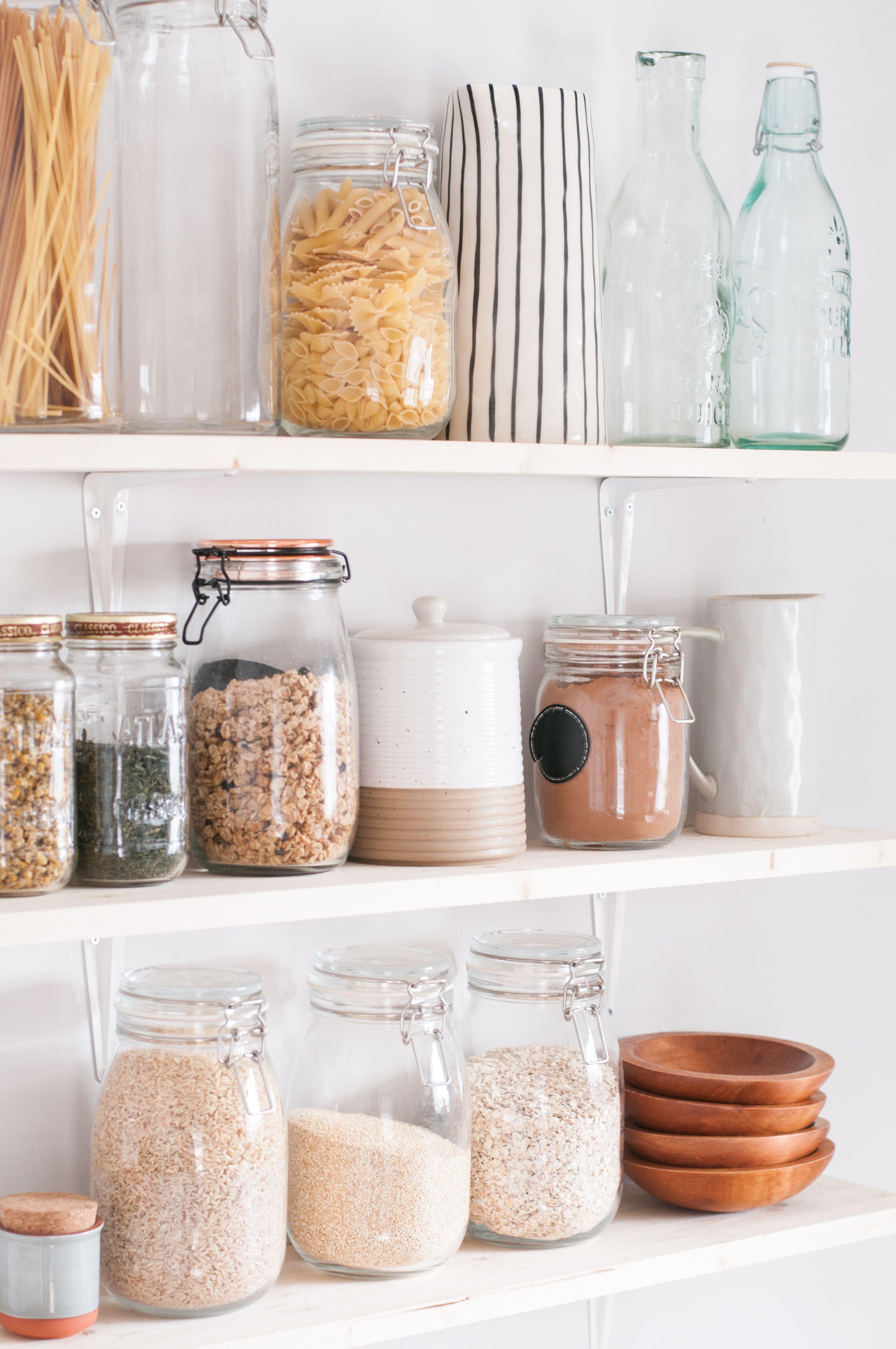 zero waste kitchen i love using glass jars in my kitchen for food storage they make storing on kitchen organization zero waste id=79414