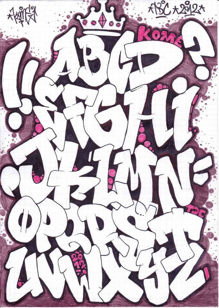 Abecedario De Letras De Graffitis Chidas Abecedario En Graffiti