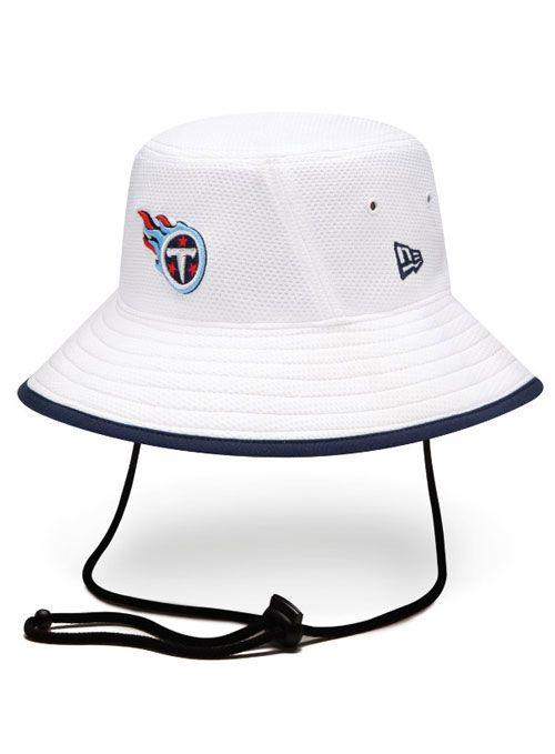 ceed7695800 Titans New Era Training Bucket Hat