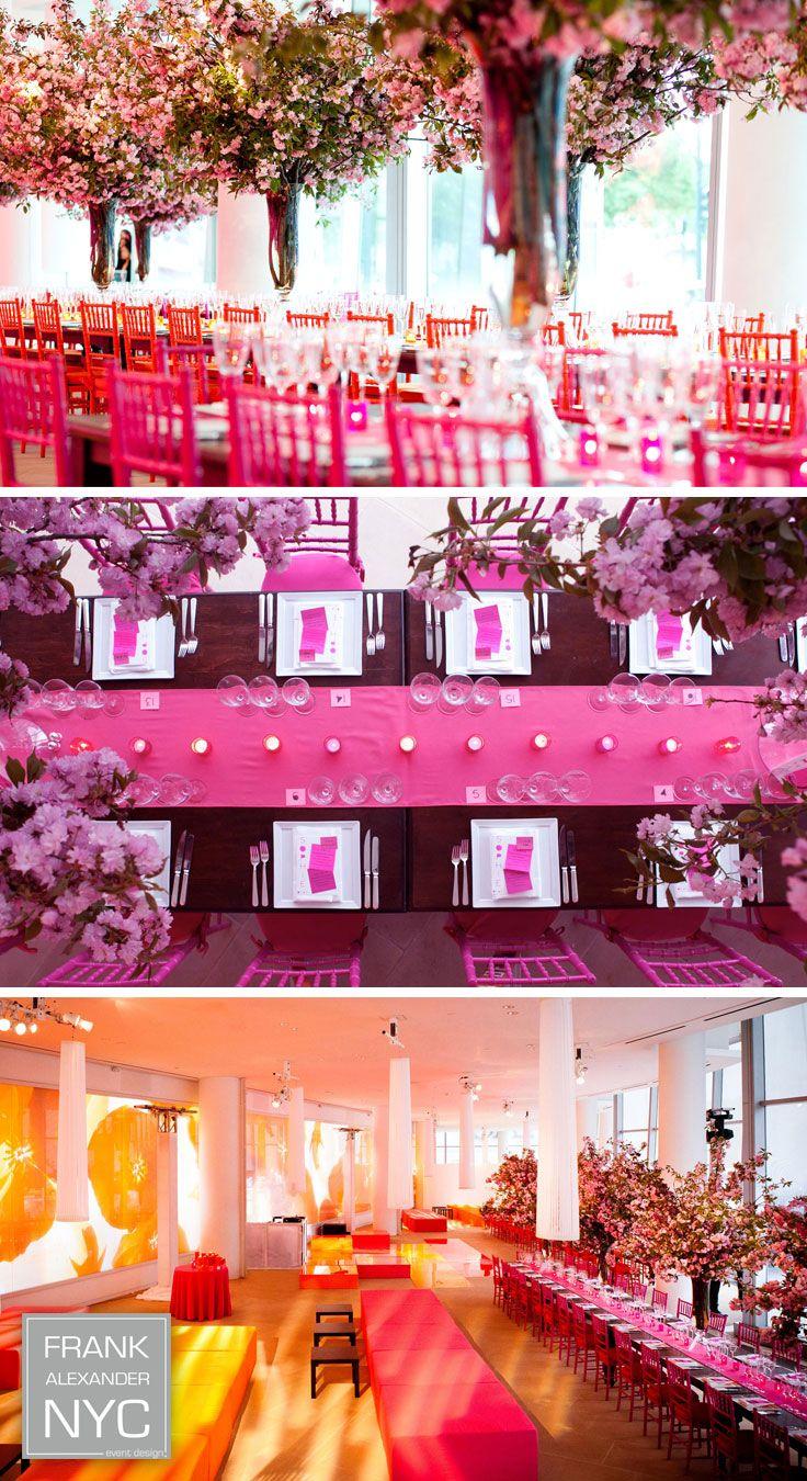 Pretty in pink | FRANK ALEXANDER NYC #wedding | FANYC Events + ...
