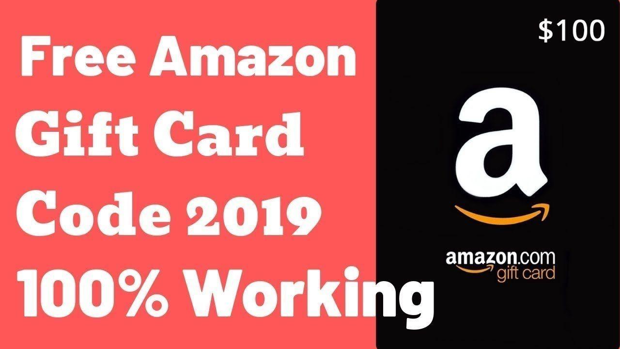 Amazon Gift Card How To Get Free Amazon Code Amazon Gift Card Code