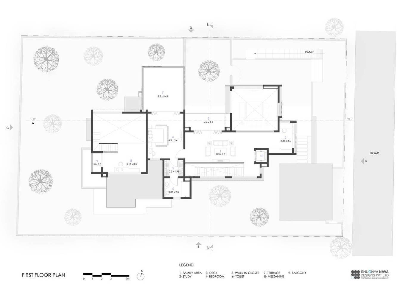 Gallery Of Farm House Shuonya Nava Designs 28 In 2020 Design House Farmhouse