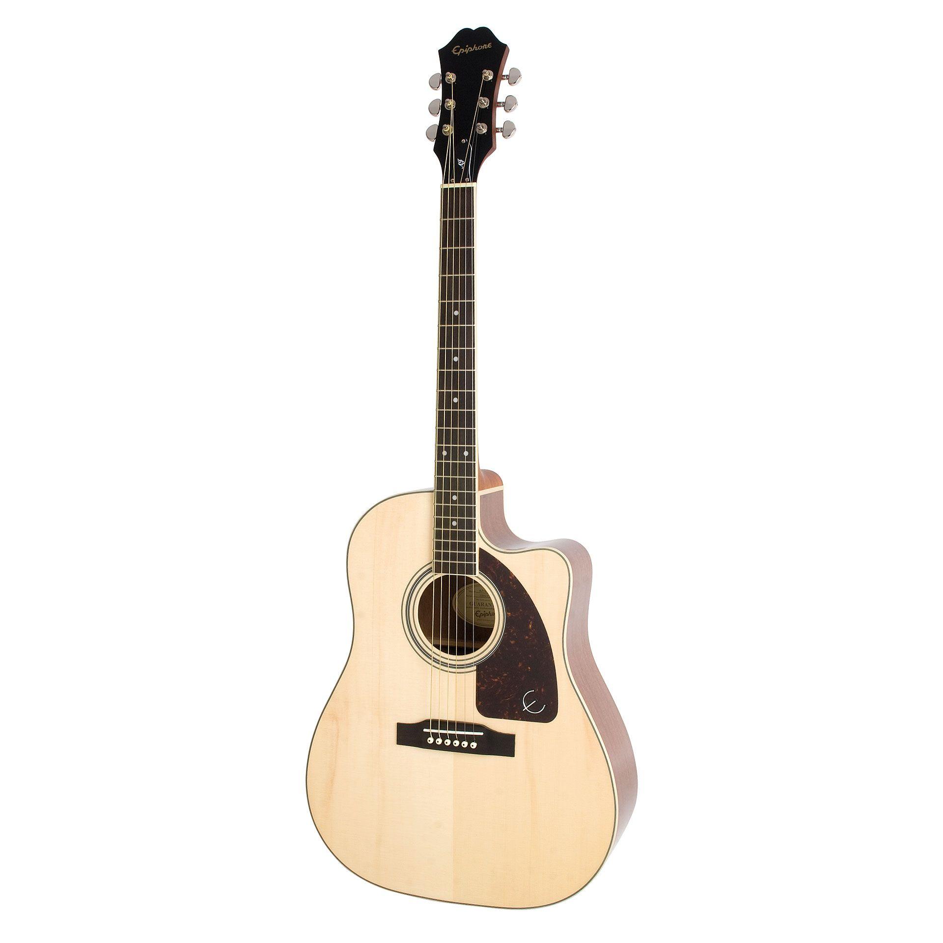 Epiphone aj220sce na acoustic guitar