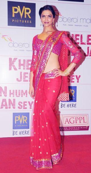 Deepika Padukone Indian Celebrities Indian Outfits Bollywood Fashion