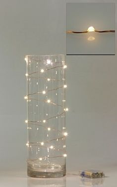 Wired Fairy Lights | DIY Wedding Company #fairylights
