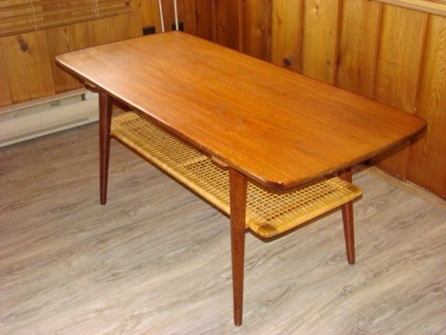 Teak Surfboard Coffee Table By Casala With Cane Wrapped Shelf This Mid Century Modern Teak Coffee Table F Surfboard Coffee Table Coffee Table Teak Coffee Table