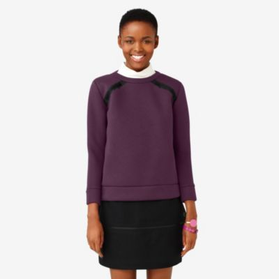 Kate Spade Saturday Zip-Around Shoulder Sweatshirt