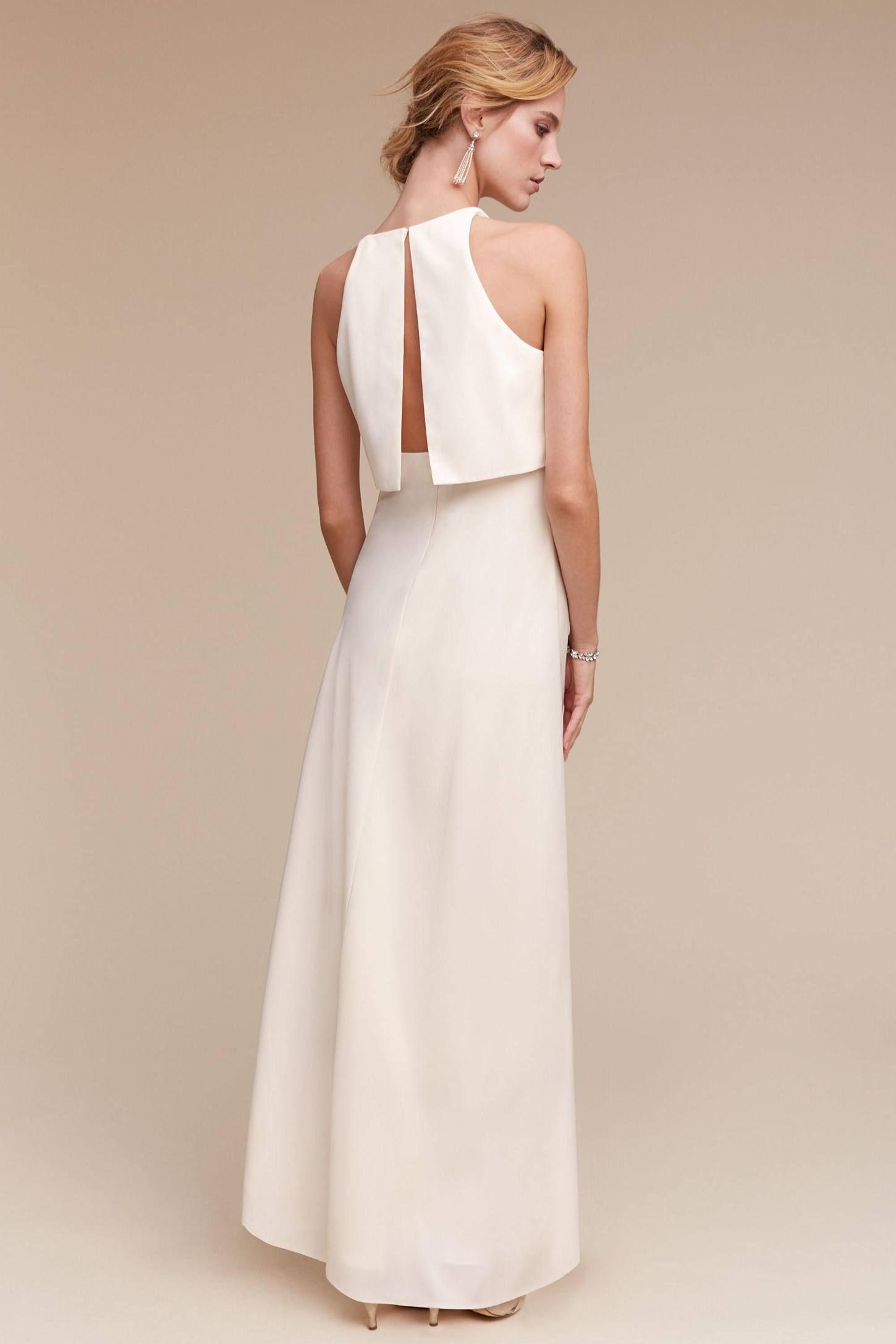 ee072b32531f Slide View  2  Iva Crepe Maxi Maxi Dress Wedding