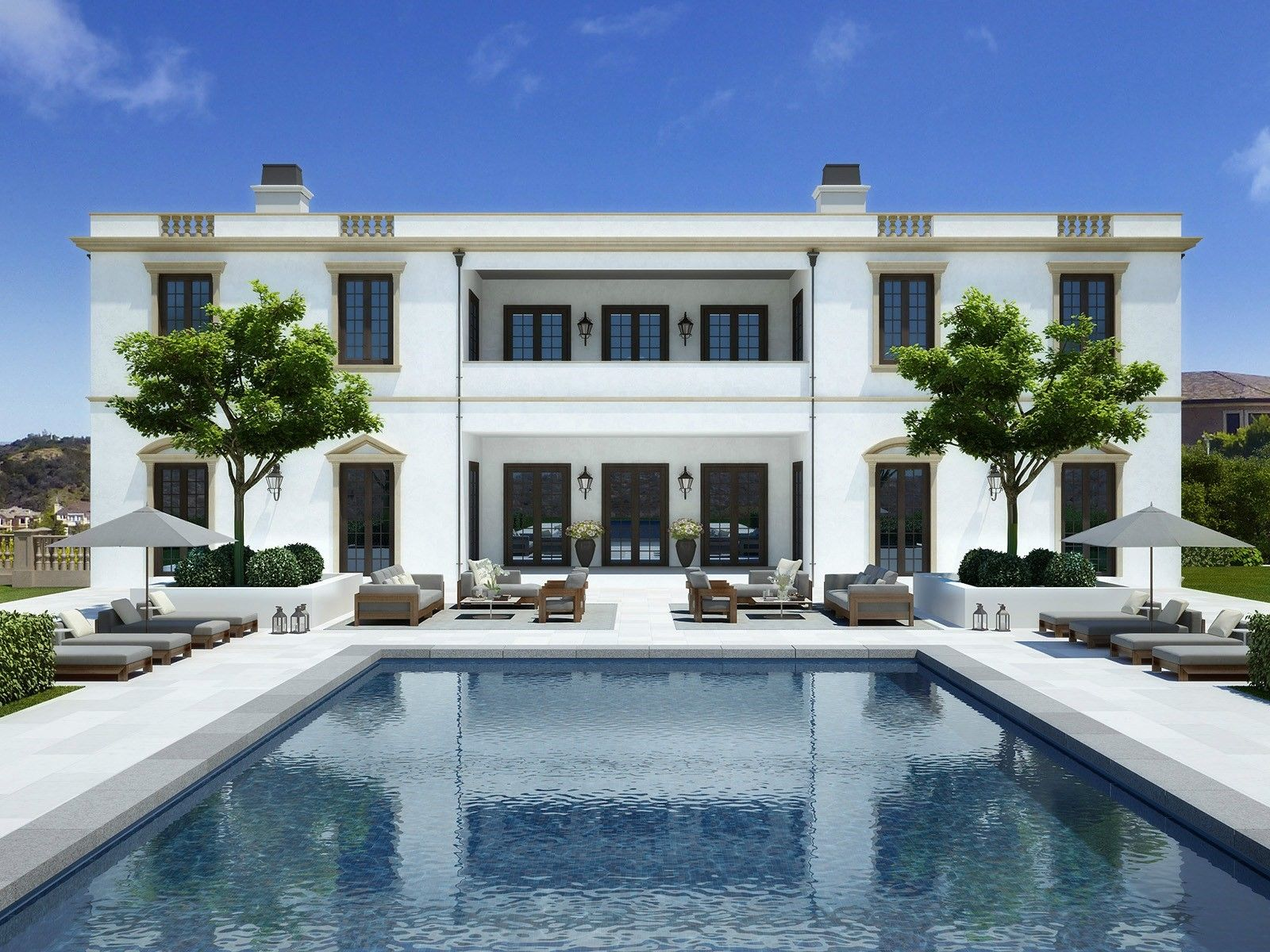 Sotheby S Homes Bel Air Mansion Mansions House Exterior