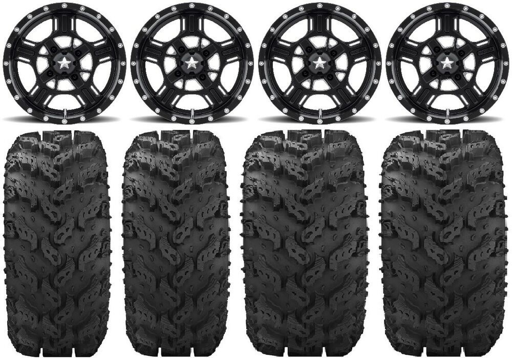 "2 Banshee Raptor 660//700 STI Pro-Lite Black 8/"" Rear Wheels Yamaha YZF450"