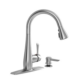 american standard olvera stainless steel 1-handle pull-down