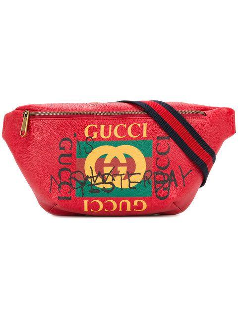 0f5efec58c7 GUCCI Gucci Coco Capitán logo belt bag. #gucci #bags #leather #belt bags #