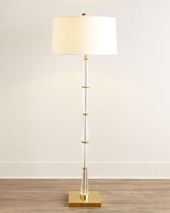 Crystal corset floor lamp by john richard collection at horchow buffet lampstable