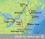 East Coast/Canada road trip ideas in 2020   Canada tours ...