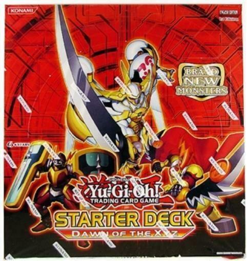 Konami Ygo Deck Dawn Of The Xyz Starter Deck Display Box 10