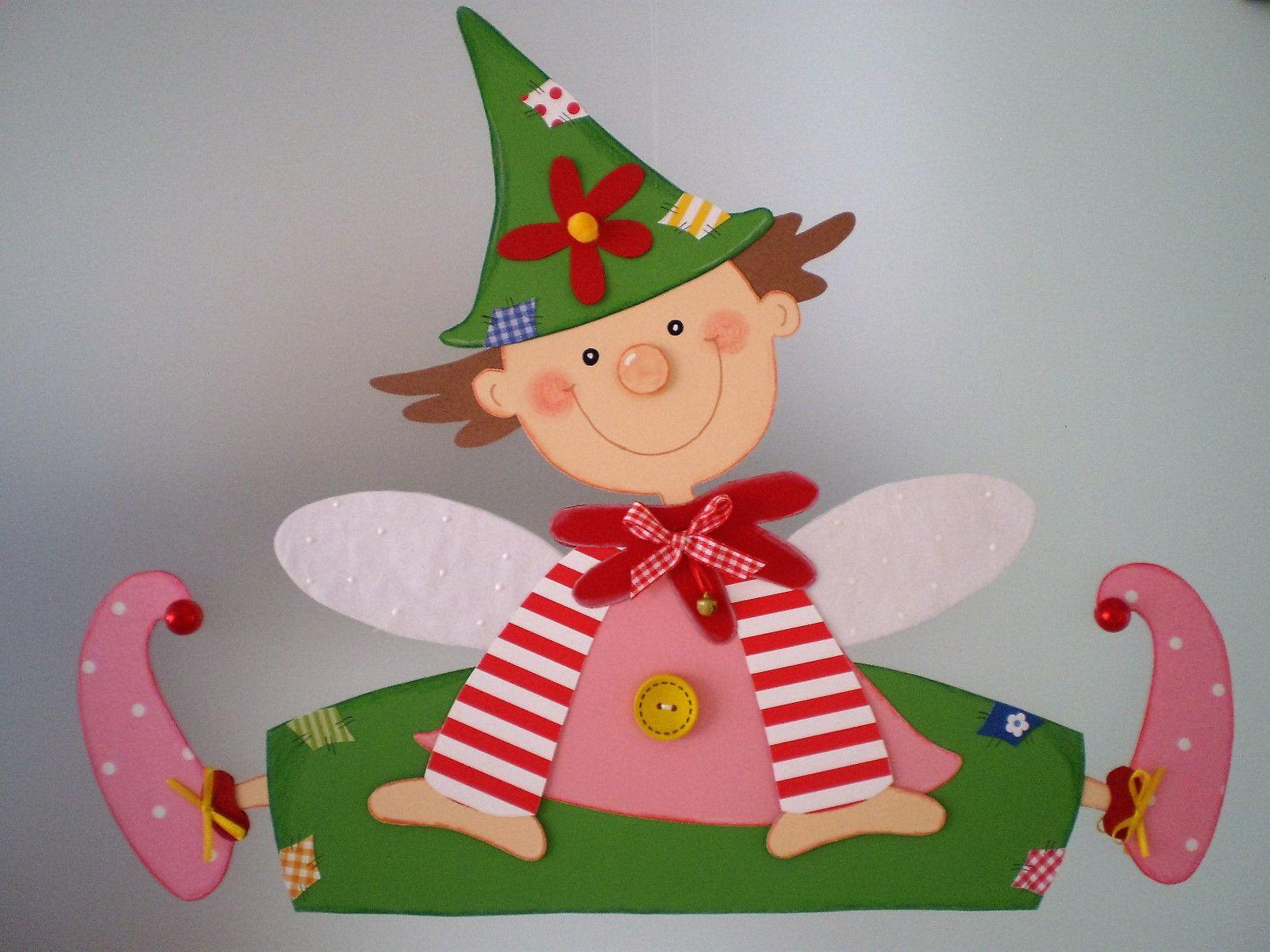 Fensterbild   Süßer Wichtel   Elfe   Kinderzimmer   Dekoration   Tonkarton!  FOR SALE U2022