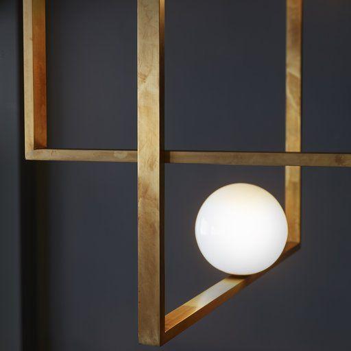 Mondrian Glass Chandelier Shop timeless lighting Artemest Home