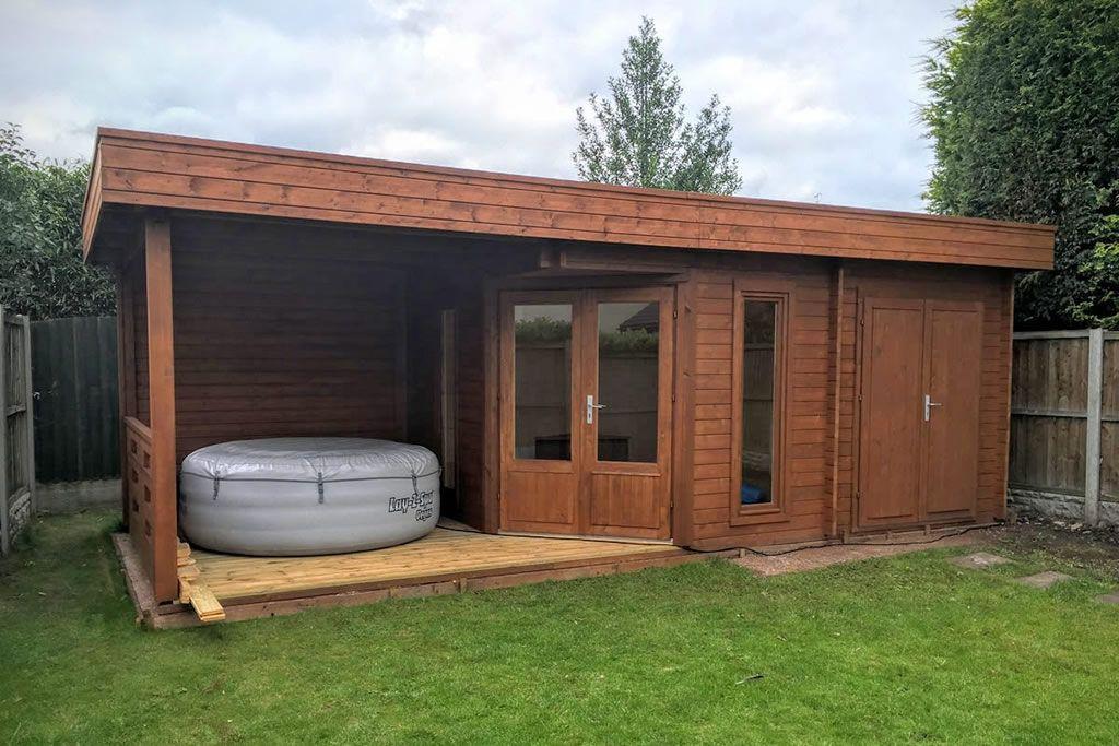 Gartenhäuser aus Polen kaufen HolzGartenhaus Bausatz