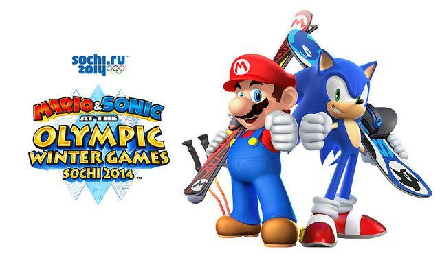 M1 5 Mario Kids Olympics Sonic