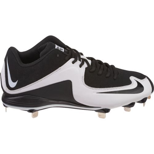 Nike Mvp Strike 2 Low Metal - Men'S - Baseball - Shoes - Black/Black/White