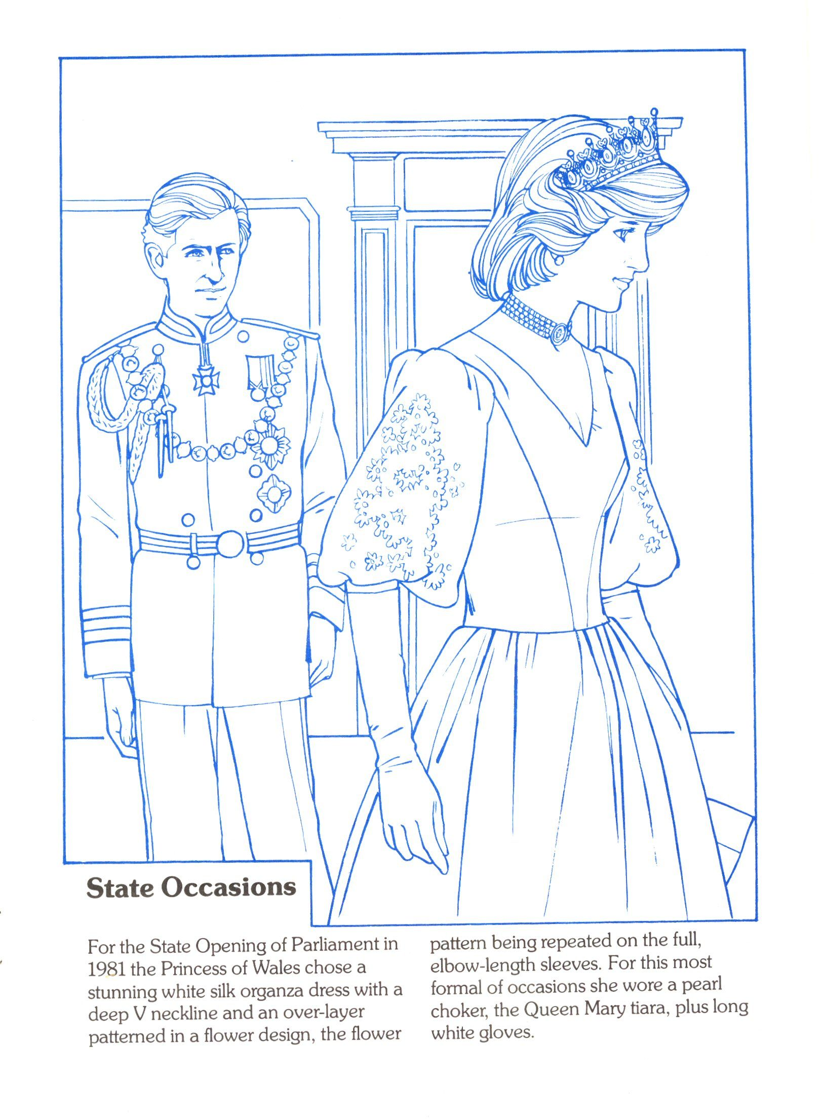 Diana Fashion Collection Book 2 Social Studies Culture Historical Figurea British Royal Family Doll Sets Paper Dolls Colouring Pages