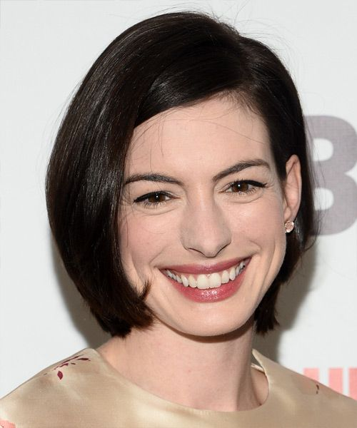 Anne Hathaway Bob Hairstyle