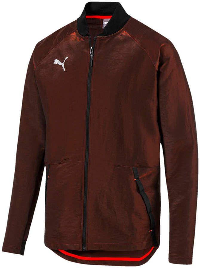 Puma Men Iridescent Bomber Jacket in 2019 | Jackets, Bomber