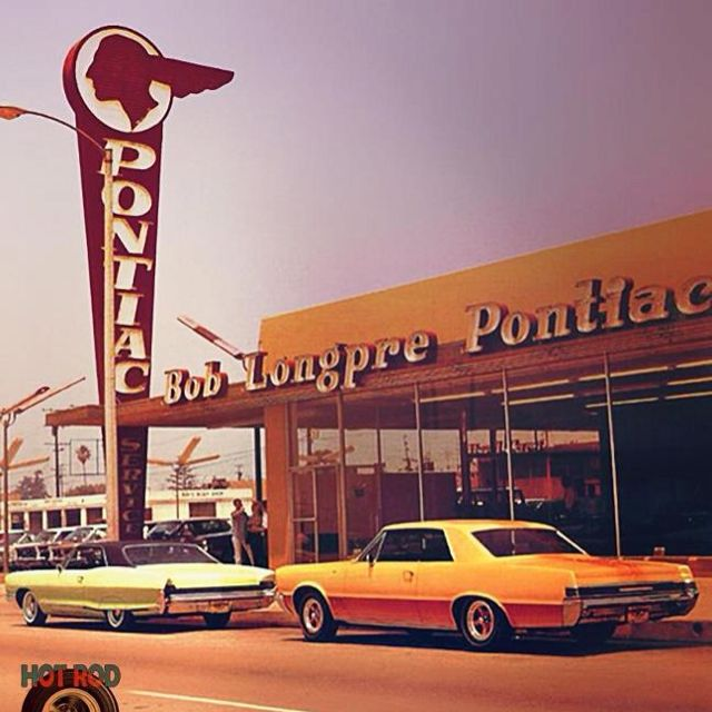 Vintage Pontiac dealership…Re-pin brought to you by agents of #CarInsurance at…