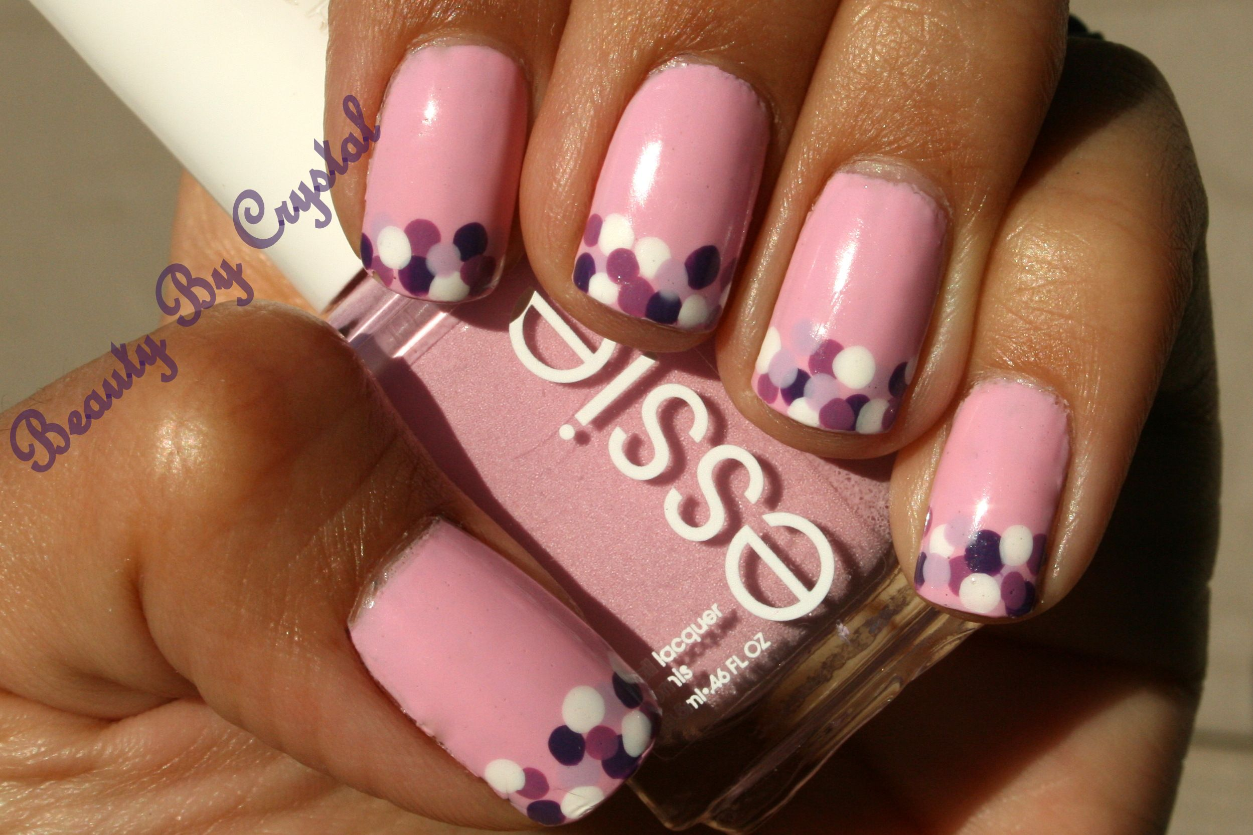 Essie French Affair Nail Polish w/ Dot Tips | My Nails! | Pinterest ...