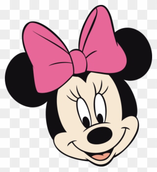 Minnie Mouse Face Clip Art Minnie Mouse Face Png Transparent Png Minnie Mouse First Birthday Minnie Mouse Printables Minnie