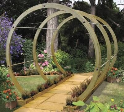 Garden Design Arches modern circular pergola | pergolas and arches | pinterest