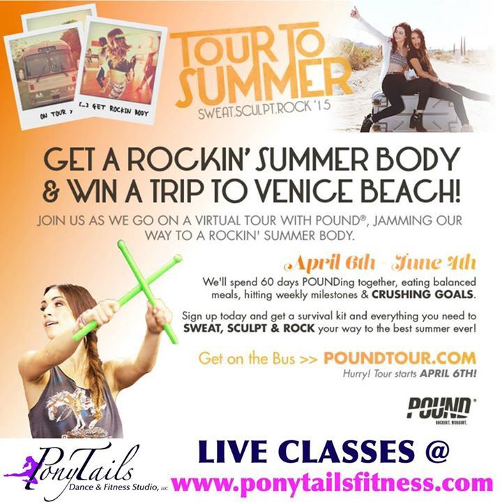 Pound Fitness Classes Offered At Ponytails Ponytailsfit Pound Www