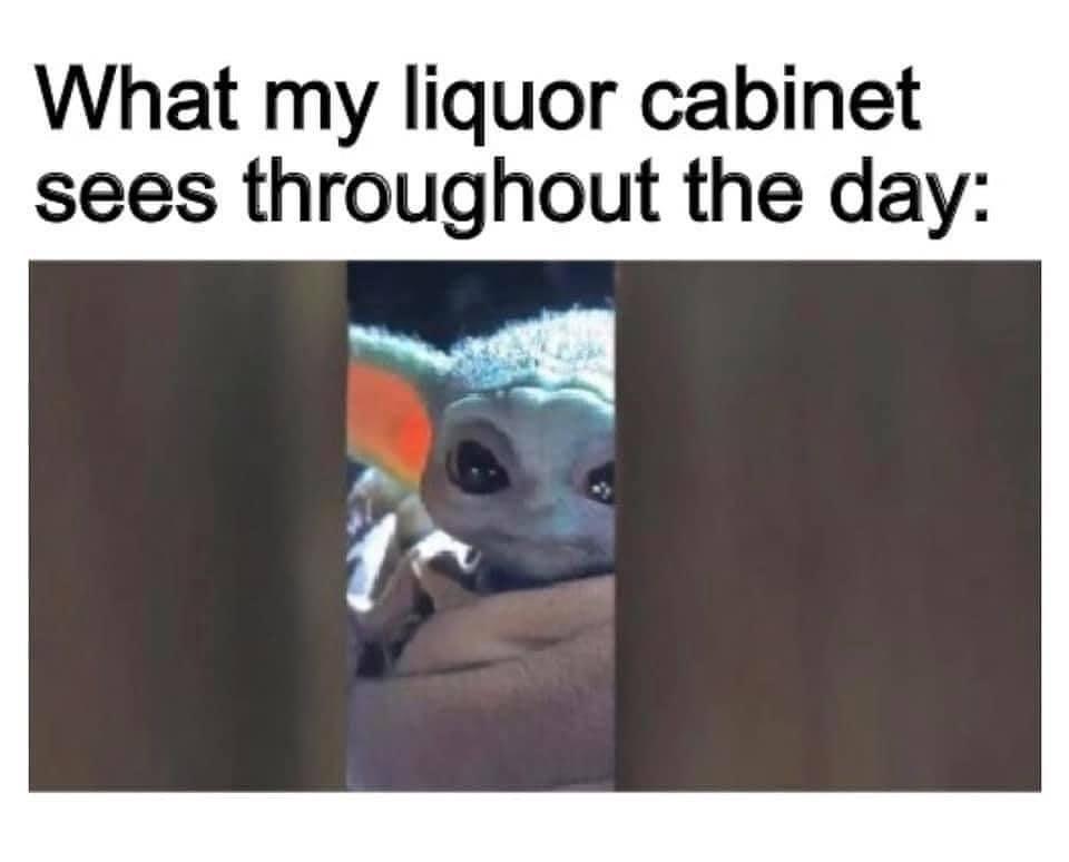 277 Likes 2 Comments Baby Yoda Babyyodadailycontent On Instagram Yoda Funny Clean Funny Memes Funny Video Memes