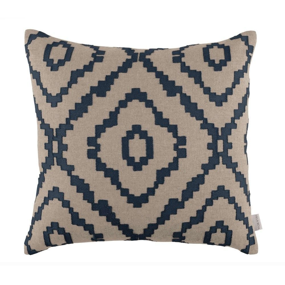 Villa Nova Sami Cushion Indigo Geometric cushions