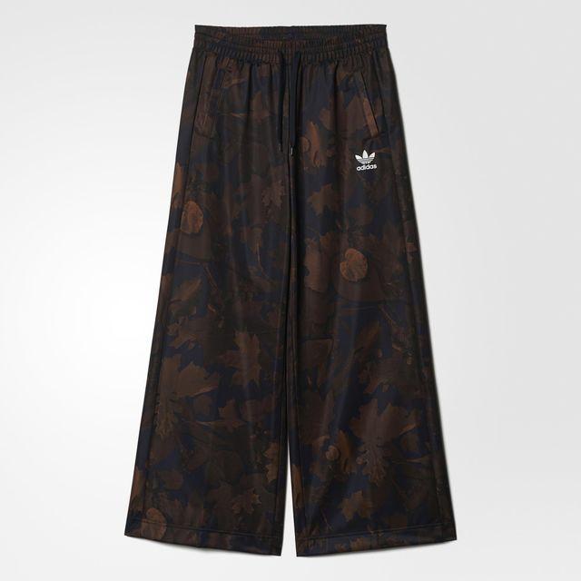adidas Wide Leaf Camo Track Pants - Multicolour | adidas UK