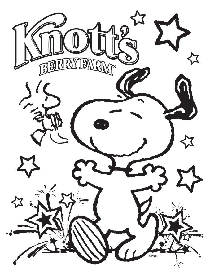 4th of july coloring page - Google Search | Peanuts coloring pages ...